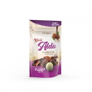 Aldio Karışık Çikolatalı Fındıklı Draje